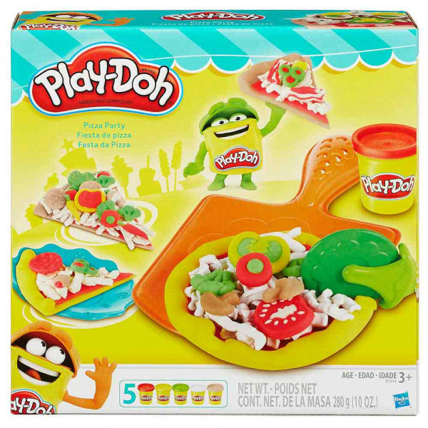 PLAY-DOH PLASTELIN PIZZA PARTY
