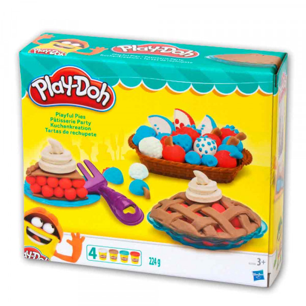 PLAY-DOH PLASTELIN PITA SET