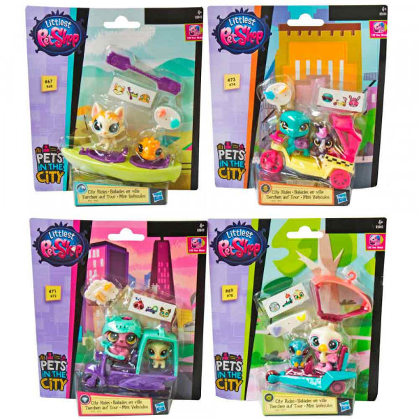 LITTLEST PET SHOP CITY RIDES FIGURE