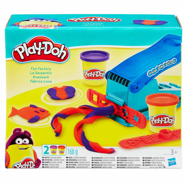 PLAY-DOH PLASTELIN BASIC FUN FACTORY