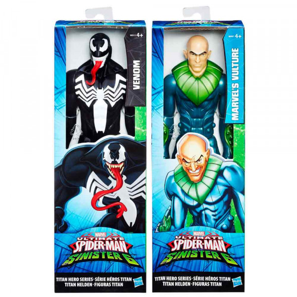 SPIDERMAN FIGURA TITAN VILLAIN