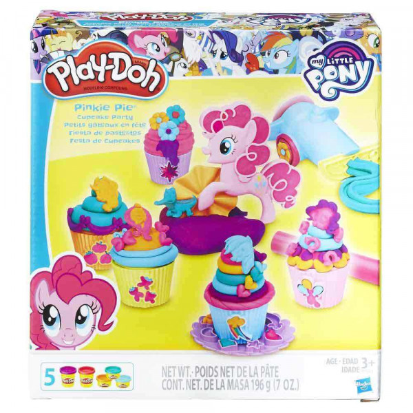 PLAY-DOH PLASTELIN PINKIE PIE CUPCAKE PARTY