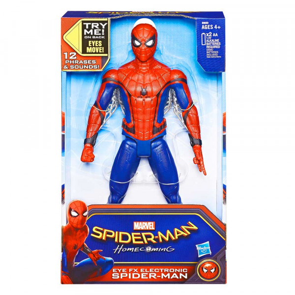 SPIDERMAN EYE FX ELECTRONIC FIGURA