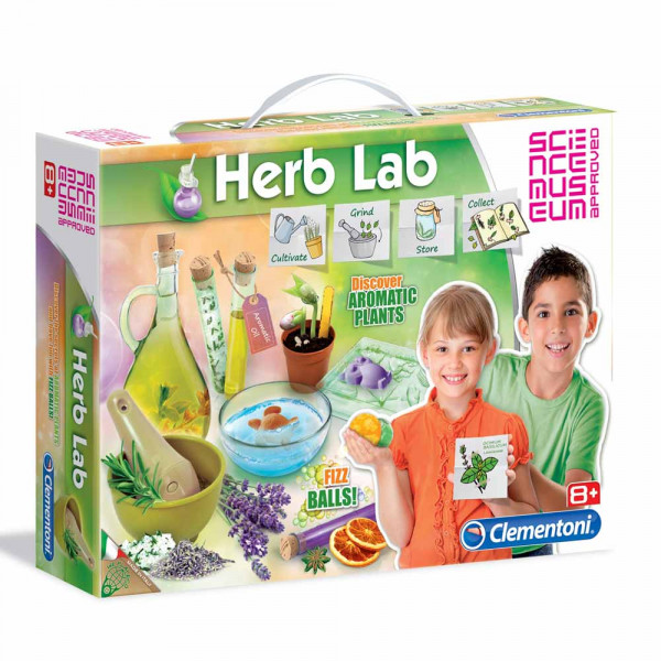 CLEMENTONI SCIENCE HERB LAB