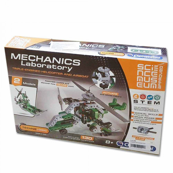 CLEMENTONI SCIENCE SET HELIKOPTER