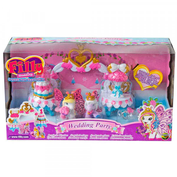 FILLY WEDDING PARTY SET