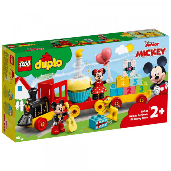 LEGO DUPLO DISNEY TM MICKEY & MINNIE BIRTHDAY TRAIN