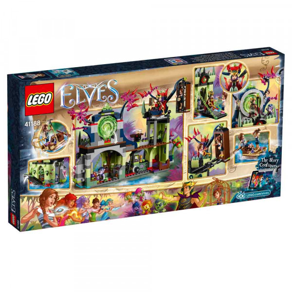 LEGO VILENJACI ELVES BREAKOUT FROM THE GOBLIN KIN..
