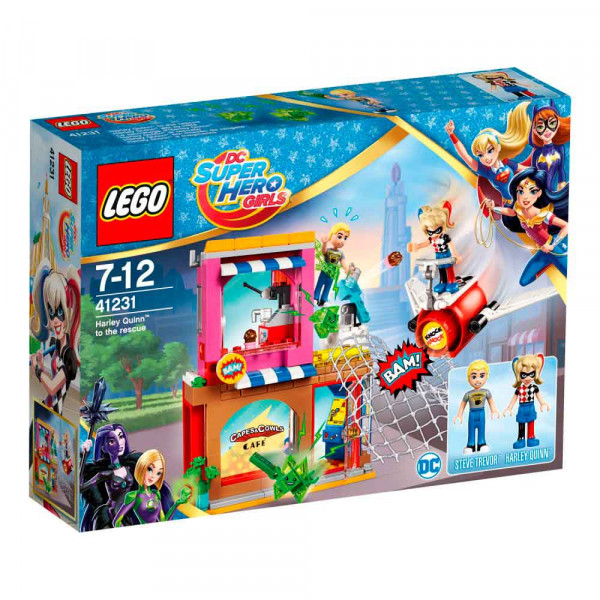 LEGO SUPER HERO GIRLS HARLEY QUINN TO THE RESCUE