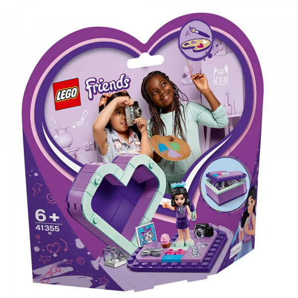 LEGO FRIENDS EMMA'S HEART BOX
