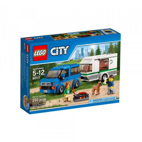 LEGO CITY GREAT VEHICLES VAN & CARAVAN