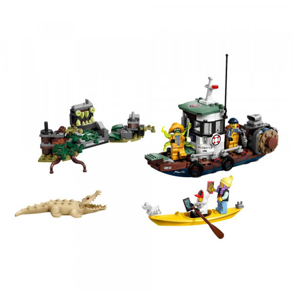 LEGO HIDDEN SIDE BOAT  BAD GUY