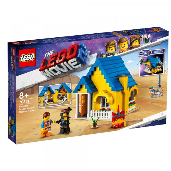LEGO MOVIE EMMET'S DREAM HOUSE/RESCUE
