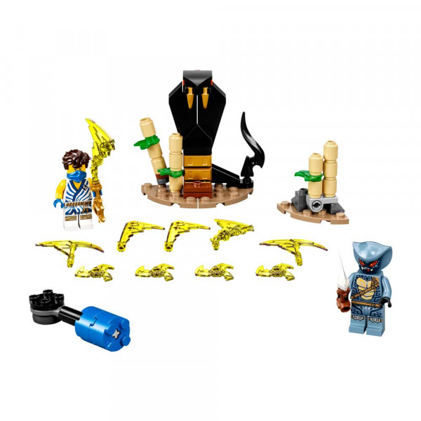 LEGO NINJAGO EPIC BATTLE SET - JAY VS. SERPENTINE