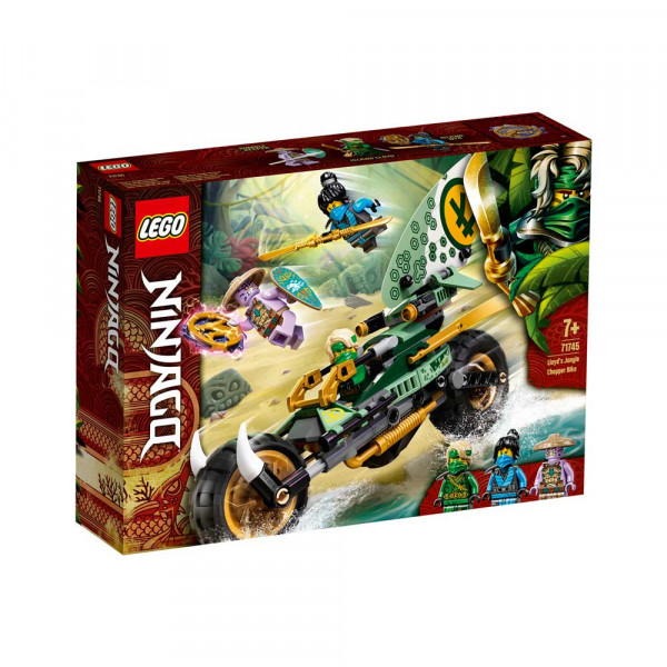 LEGO NINJAGO LLOYDS JUNGLE CHOPPER BIKE