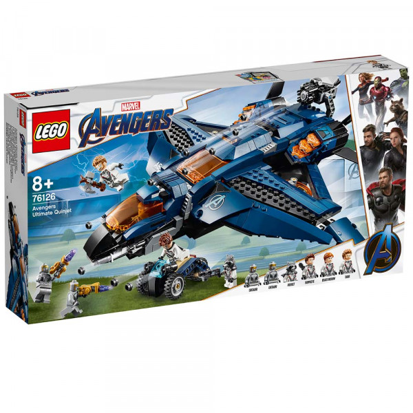 LEGO SUPER HEROES AVENGERS ULTIMATE QUINJET