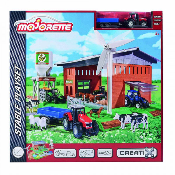 MAJORETTE FARM CREATIX STABLE PLAYSET
