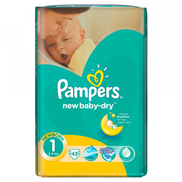 PAMPERS NEW BORN  (43)
