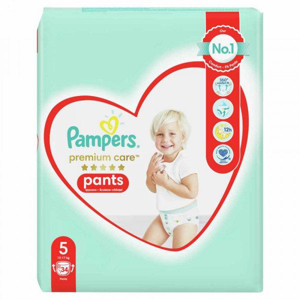PAMPERS PREMIUM PANTS VP 5 JUNIOR (40)