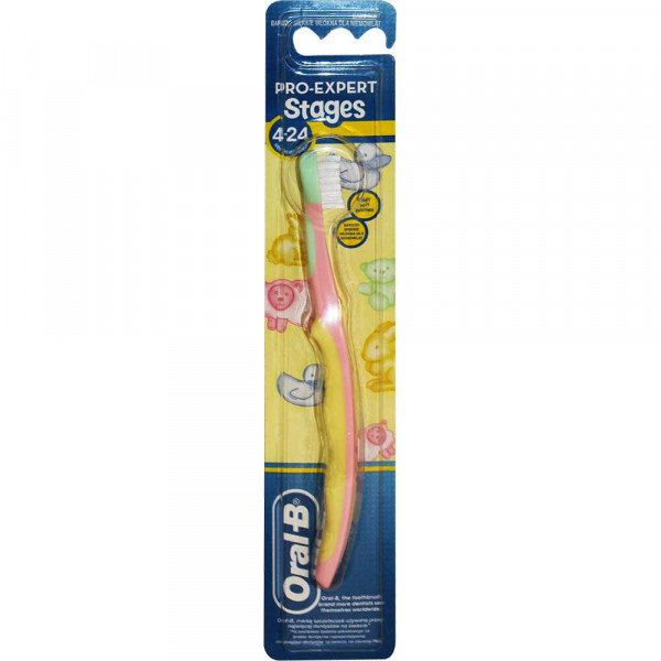 ORAL B CETKICASTAGES  4 24M SOFT