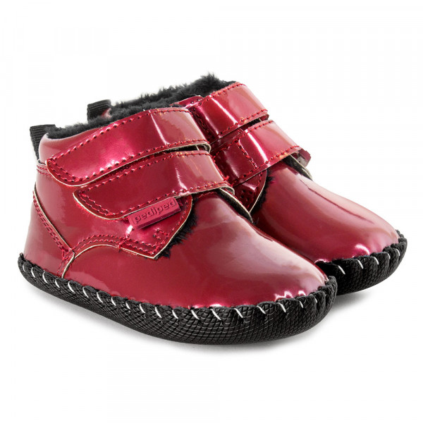 PEDIPED CIZME LIONEL RED PATENT