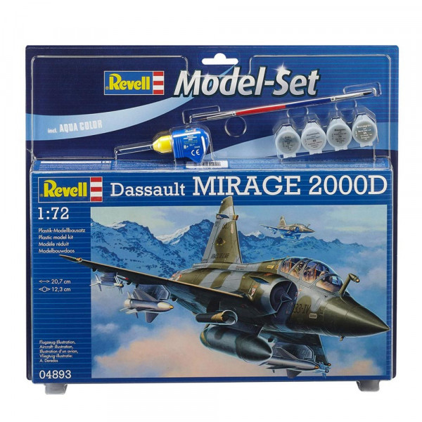 REVELL MAKETA  MODEL SET MIRAGE 2000D