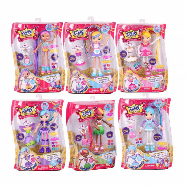 BETTY SPAGHETTY S1 W1 SINGLE PACK
