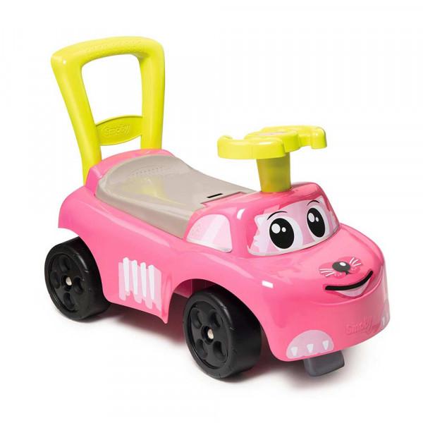 smoby roze auto guralica sm720518   dexy co kids internet prodavnica