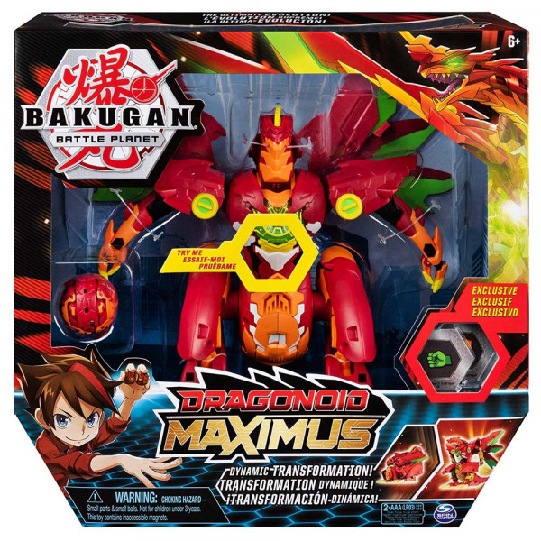 BAKUGAN DRAGONOID MAXIMUS ASST
