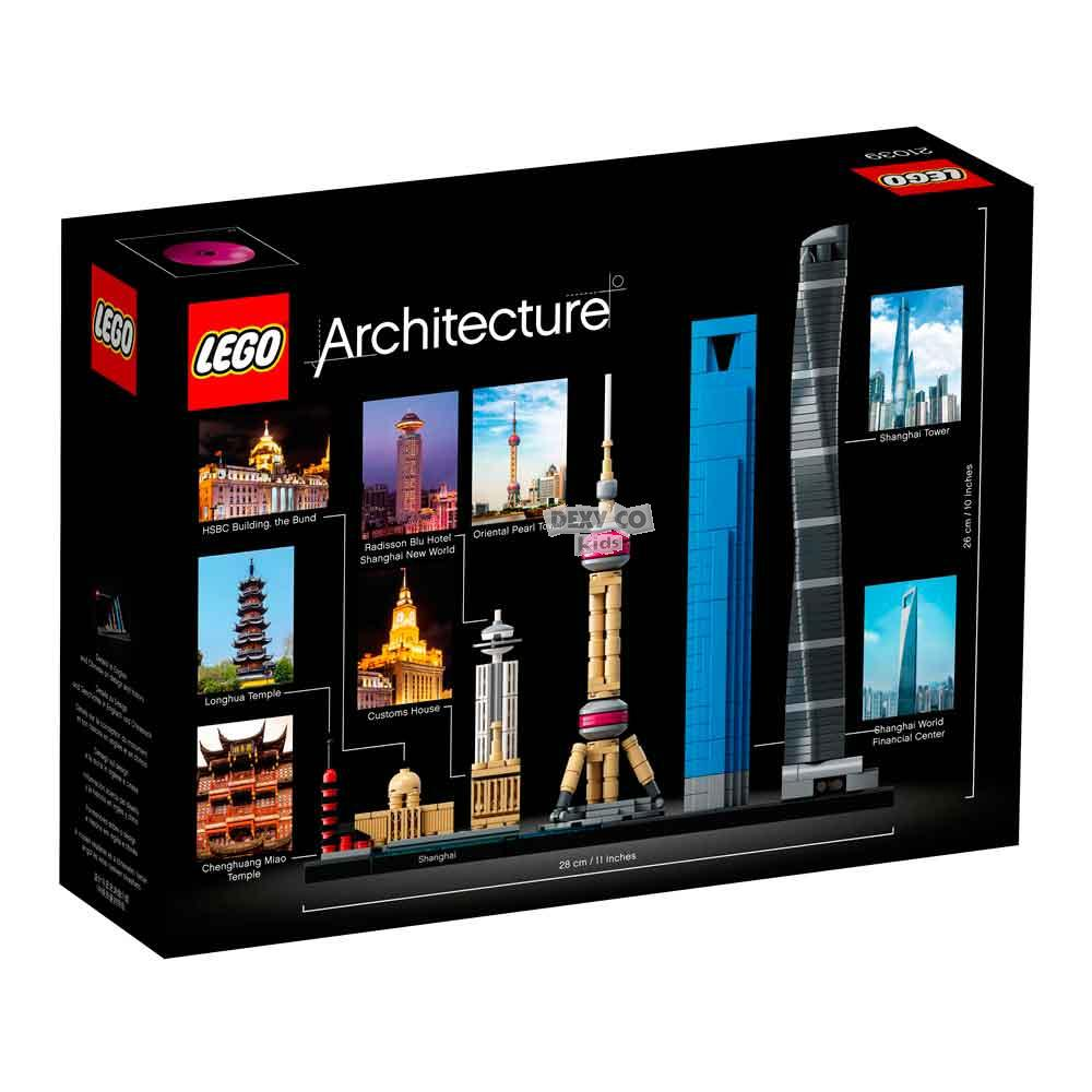 LEGO ARCHITECTURE SHANGHAI