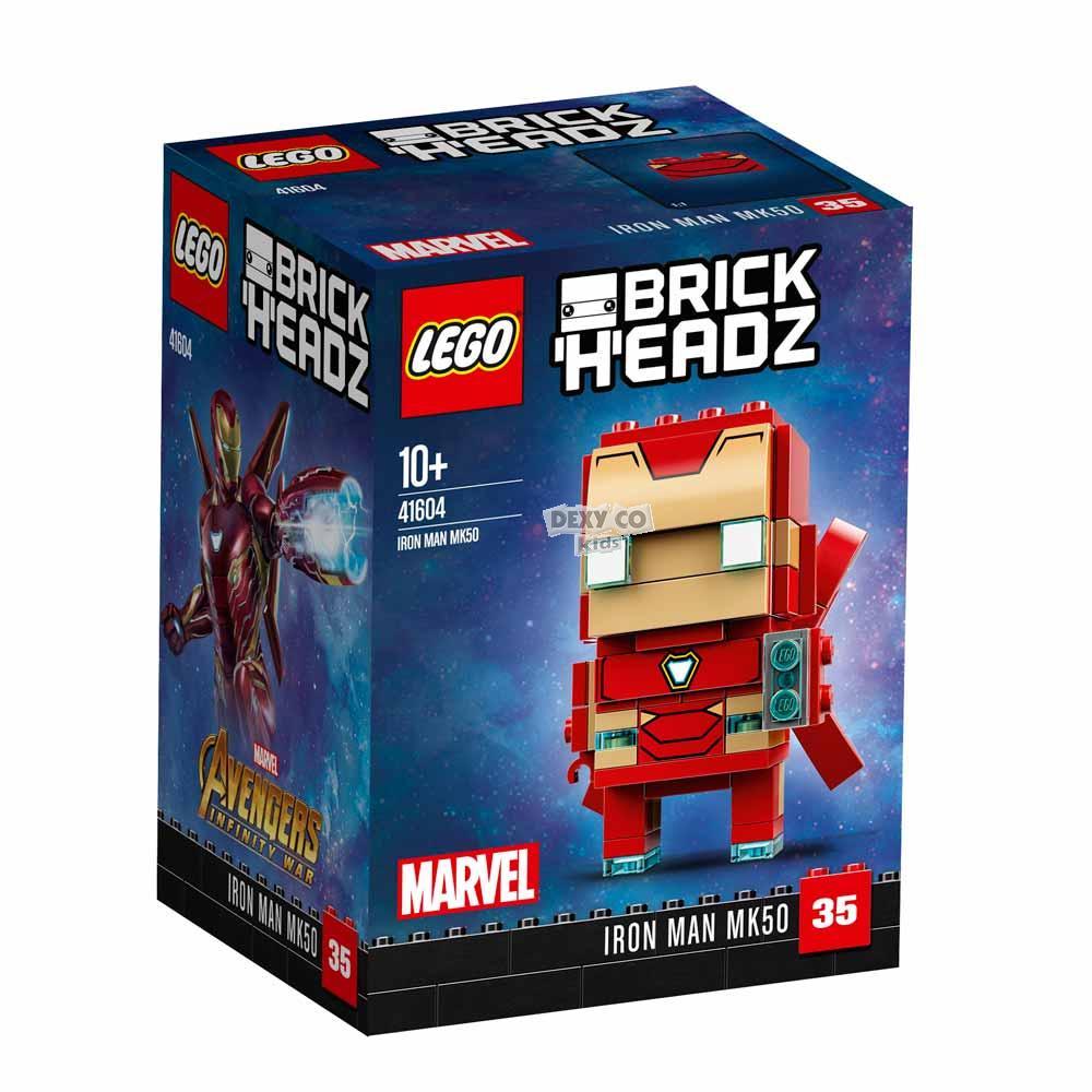 LEGO BRICK HEADZ IRON MAN