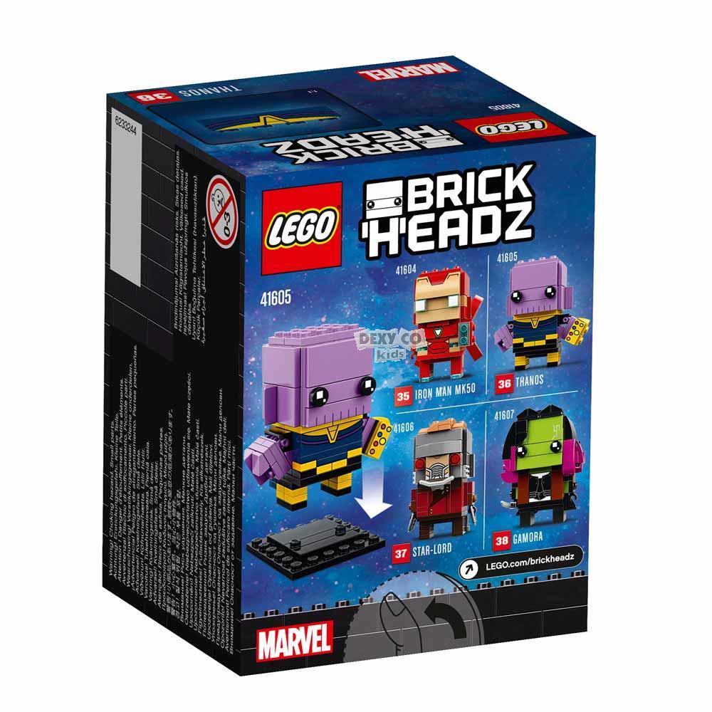 LEGO BRICK HEADZ THANOS