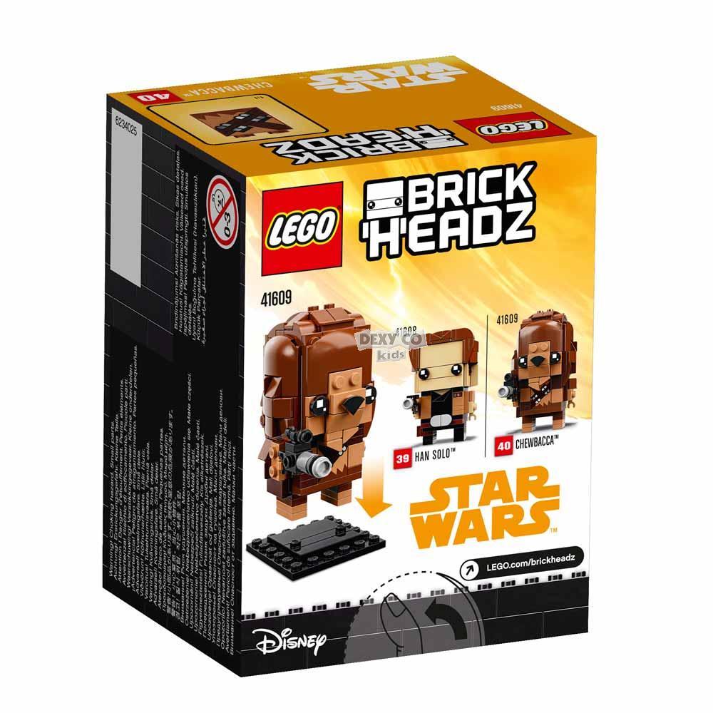 LEGO BRICK HEADZ CHEWBACCA