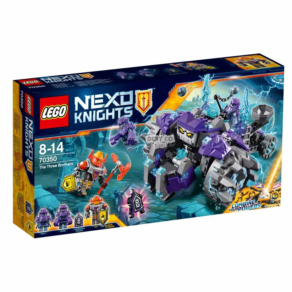 LEGO NEXO KNIGHTS THE THREE BROTHERS