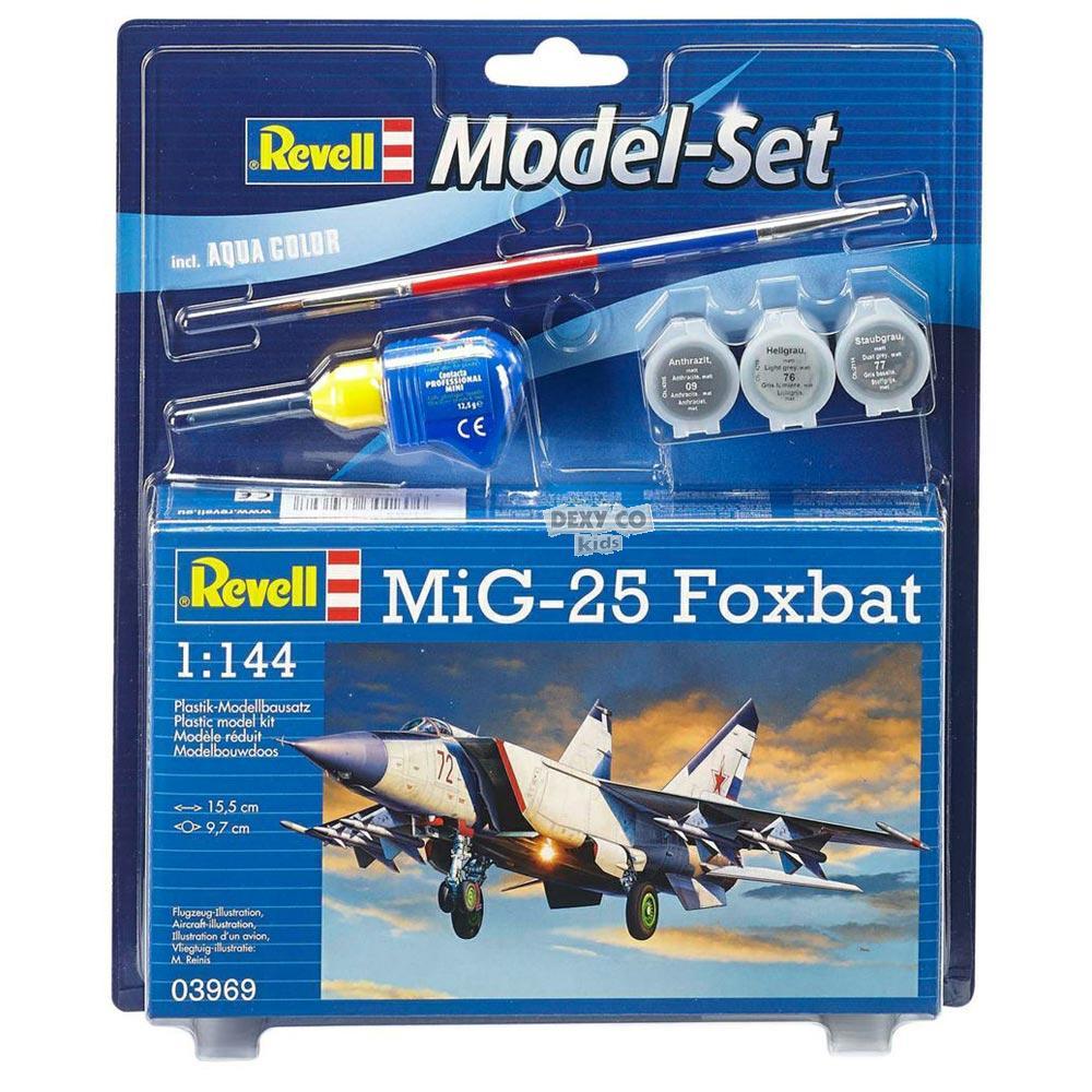 REVELL MAKETA MODEL SET MIG-25 FOXBAT