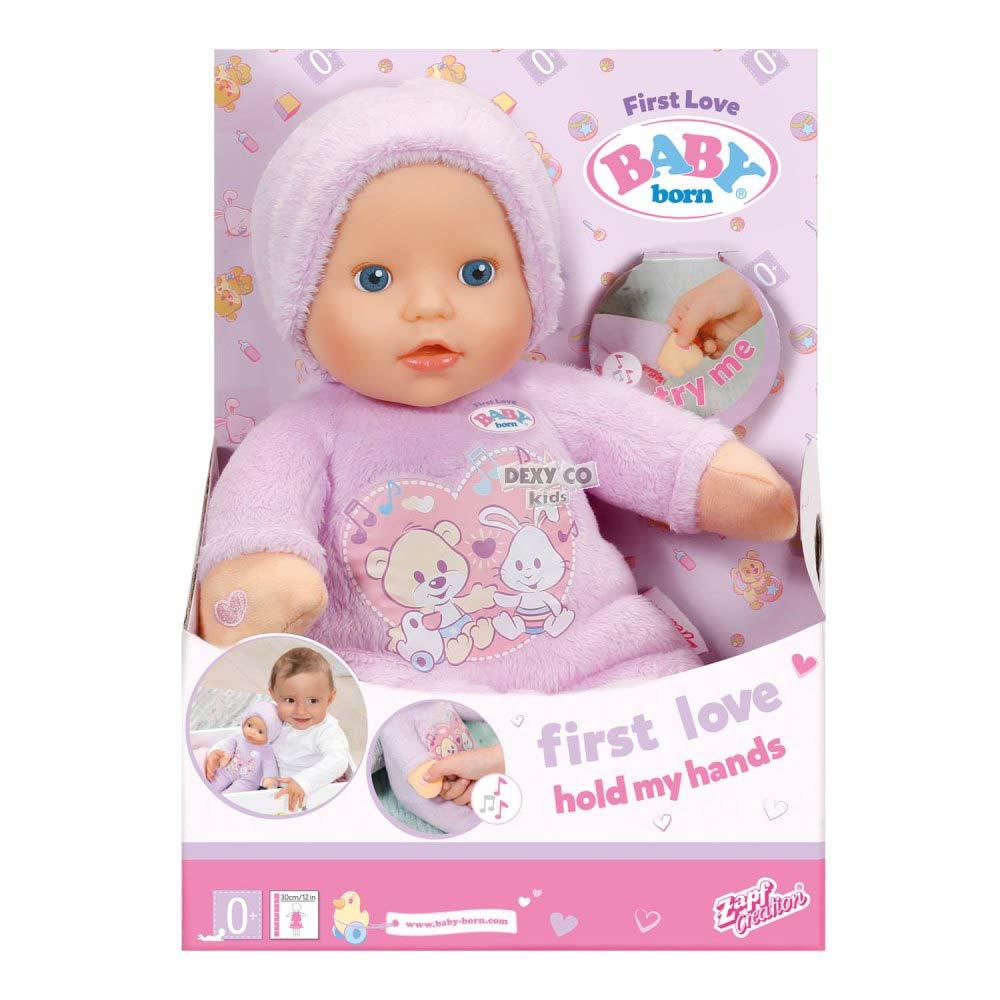 BABY BORN LUTKA FIRST LOVE HOLD MY HANDS